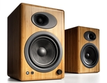 Audioengine A5+ Premium Powered Speakers (Bamboo)