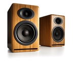 Audioengine P4 Bookshelf Speakers in Solid Bamboo