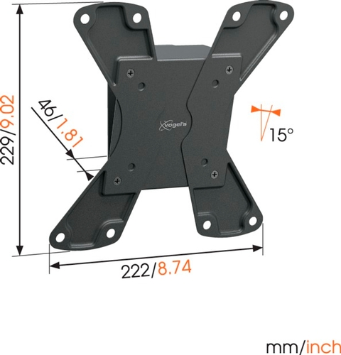 Vogels WALL 1115 Tilting TV Wall Mount