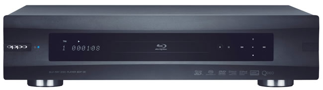 The Oppo BDP-93 Blu-ray player