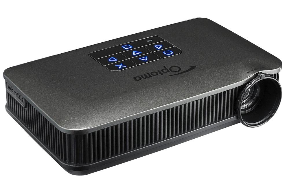 The listening post christchurch optoma pk 320 pico for Dlp pico projector price
